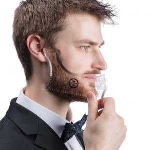 OEM GuideLine Pro Beard Template, Beard Shaping Tool | for Shaping a Perfectly Symmetrical Beard & Moustache.